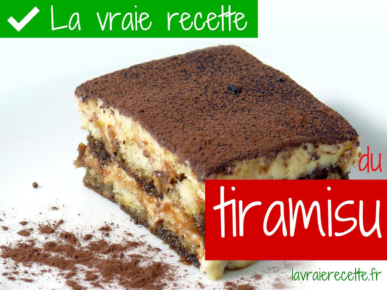 recette tiramisu recette italienne