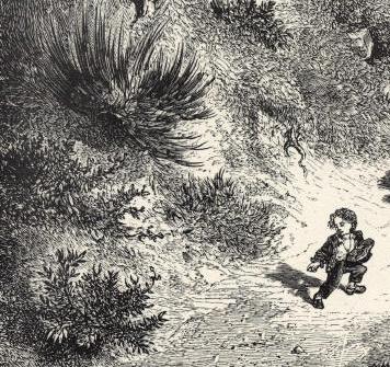 Petit poucet, illustration de Gustave Doré